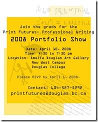 Print Futures Portfolio Show 2008
